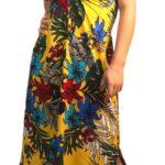 vestido pita largo